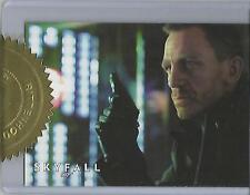"James Bond 50th Anniversary S1 - ""Skyfall Poster"" Case Topper Card #559/700"