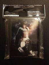 Final Fantasy Dissidia Squall Standard Size Card Sleeves (60 Pack)