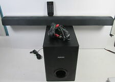 Philips Soundbar And Subwoofer W/ Remote CSS2123 & Css2123/F7