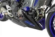 Yamaha MT-09 & FZ-09 2013-2016 Belly Pan Carbon Look & Blue mesh by Powerbronze