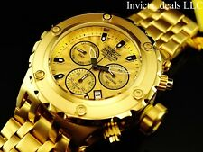 Invicta Men 52mm Subaqua Swiss Chronograph 18K Gold Plated Stainless Steel Watch