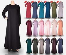 Womens Plain Abaya Modest Dress Burqa Kaftan Farasha Jilbab Ladies. Maxi Dress