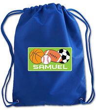 Personalised Kids Nylon Swimming Bag