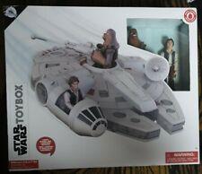 Star Wars Toybox Millenium Falcon Set. Han Solo et Chewbacca chiffres inclus