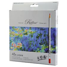 Raffine Marco 48-color Fine Art Colored Drawing Pencils Coloring Books Sketching