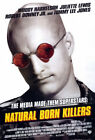Внешний вид - Natural Born Killers (1994) Movie Poster Version B, Original, SS, Unused, Rolled