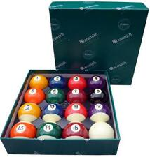 "ARAMITH 1 7/8"" SPOTS AND STRIPES PREMIER MATCH POOL BALLS."