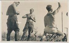 Foto Frankreich- Soldaten-Feldstecher-Funkgerät 2.WK ( M386)