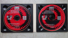 NINE INCH NAUILS March Of The Pigs 2CD Part 1 + 2 MISPRINT EDITION & Stema  MCPS