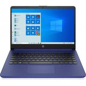HP 14 Series 14 Touchscreen Laptop Intel Celeron N4020 4GB RAM 64GB eMMC Indigo