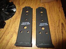 2 NOS Brackets Hood Latch Backer  Hummer H1 12338905 2510-01-185-6715