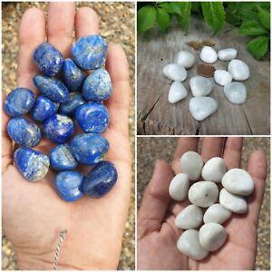 Premium & Large Crystal Tumble Stones Free P&P