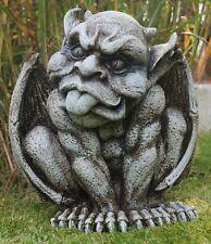 """Gartenfigur """"Gargoyle schneidet Grimasse"""" - Garten, Figur, Gargoyle"""
