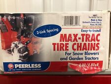 Peerless Max Trac  tire chains 4.00/4.80 x 8 for lawn tractor or snowblower