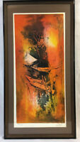 HOI LEBADANG Mid-Century Modern Serigraph S/N limited edition