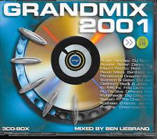 BEN LIEBRAND - Grandmix 2001 (3 x CD BOX) House Trance Holland (SONY)
