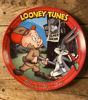Looney Tunes What's Up Doc Collector Plate -Elmer Fudd, Bugs Bunny - #4701A