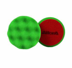AllorA Polierpad grün gewaffelt Polierschaum D80  geeignet für 3M Schleifpaste
