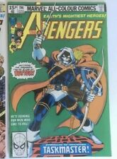 AVENGERS #196 MARVEL COMICS JUNE 1980 FIRST FULL APP TASKMASTER