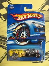 Hot Wheels 2006 Mainline #152 Way 2 Fast Yellow w/ 5SPs  4 AVAILABLE