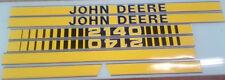John Deere 2140 Hood Decals