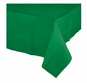 25 x Forest Green Paper Tablecovers Table Covers Cloths Tablecloths 90cm