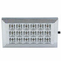 12V 18-LED Nature White Car Van Bus Interior Ceiling Dome Roof Light Lamp S1