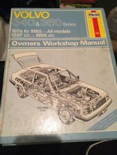 Haynes Workshop Manual 715 , VOLVO 340 & 360 Series - 1976 to 1985  All models