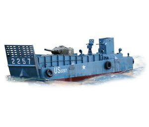 1:16 Torro D-Day 1944 Normandy Landing Craft LCM3 RC Boat Electric 2.4GHz New