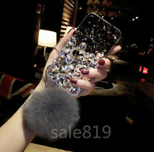 Fashion Bling Crystal Hard Rhinestone Dianond Clear PC Case Cover For Cell Phone