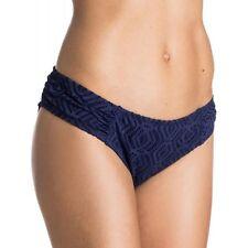 NEW ROXY Juniors Sand Dollar Basegirl Lace Swim Bottom Bikini ARJX403093 M Navy