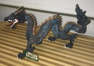 SAFARI LTD Blue Chinese Dragon Figurine Figure 60438 NEW