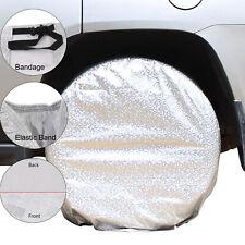 "4pcs 27-29"" Car Wheel Tire Tyre Cover UV Bag Black For Truck Trailer RV Camper"