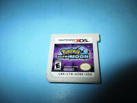 Pokemon Ultra Moon (Nintendo 3DS) XL 2DS Game