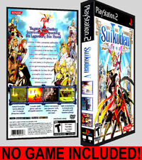 Suikoden V - PS2 Reproduction Art DVD Case No Game