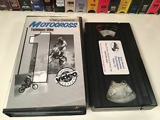 Gary Semics Motocross Techniques Video #1 VHS Corners Jumping Ruts Mud Braking +
