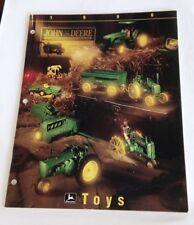 John Deere ERTL Replicas Toy Catalogue Dealer's Brochure 1996