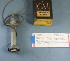 NOS 1953-1955 CHEVROLET CORVETTE RH WIPER TRANSMISSION #3706521
