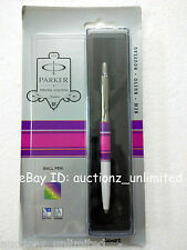 Parker Jotter Special Edition CT Ball Pen Circle Purple/Pink New Sealed original
