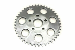 Rear Sprocket Chrome 45 Tooth for Harley Davidson by V-Twin