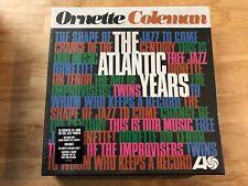 Ornette Coleman The Atlantic Years 10xLP box set sealed 180 gm vinyl