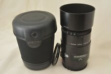 #952 Minolta AF Macro 100mm F2.8  A Mount With Case, Filter, Caps From Japan