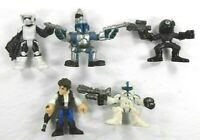 Galactic Heros Action Figures Star Wars Lot 5 Hans Solo & Various Soldiers