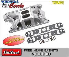 Edelbrock 7581 RPM Air-Gap SB Ford 351W Intake w/FREE Intake Gaskets