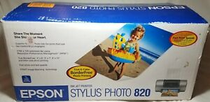 Epson Stylus Photo 820 Ink Jet - Printer only in box                          a3