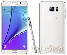 """Samsung Galaxy Note 5 Duos N9200 N9208 White 32GB 4GB RAM 5.7"""" Phone By FedEx"""