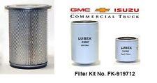 ISUZU FILTERS NPR,GMC.CHEVY ,NQR,W3500,W4500,W5500 FILTER KIT NO. FK-919712