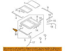 Infiniti NISSAN OEM 06-10 M35 Sunroof Moon Roof-Motor 91295EG010