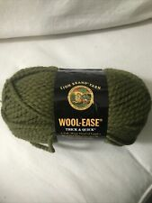 Lion Brand Wool-Ease Thick & Quick Yarn~~1 Skein ~ Cilantro