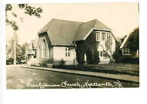 RPPC Presbyterian Church Hyattsville, Maryland c 1920s